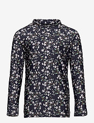 Mini A Ture - Gani T-shirt, K - uv-clothing - deep well blue - 0
