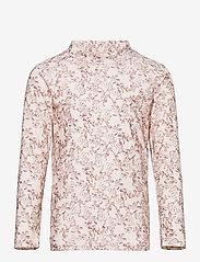 Mini A Ture - Gani T-shirt, K - uv-clothing - shell rose - 0