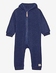 Mini A Ture - Adel Romper, B - vêtements d'extérieur - maritime blue - 0