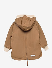Mini A Ture - Baby Vito Fleece Anorak, M - shell jackets - wood - 1