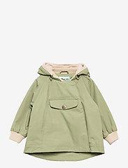 Mini A Ture - Wai Fleece Jacket, M - shell jackets - oil green - 0