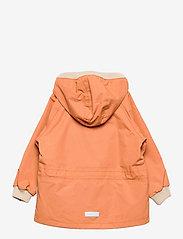 Mini A Ture - Wally Jacket, M - shell jackets - terra cotta - 1