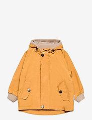 Mini A Ture - Wally Jacket, M - shell jackets - waxed honey - 0