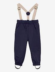 Mini A Ture - Wilans Suspenders Pants, K - bovenkleding - maritime blue - 0