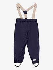 Mini A Ture - Wilans Suspenders Pants, K - bovenkleding - maritime blue - 1