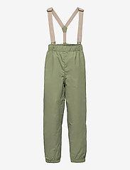 Mini A Ture - Wilans Suspenders Pants, K - bovenkleding - oil green - 0