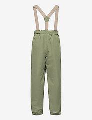 Mini A Ture - Wilans Suspenders Pants, K - bovenkleding - oil green - 1