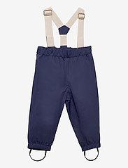 Mini A Ture - Wilans Suspenders Pants, BM - outerwear - maritime blue - 0