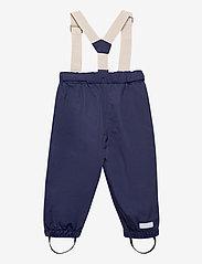 Mini A Ture - Wilans Suspenders Pants, BM - outerwear - maritime blue - 1