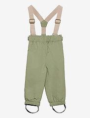 Wilans Suspenders Pants, BM - OIL GREEN
