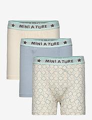 Mini A Ture - Yash Boxers GOTS 3 PACK, K - night & underwear - multi - 0