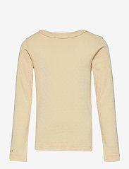 Mini A Ture - Aje T-shirt GOTS, K - long-sleeved - apricot gelato - 0
