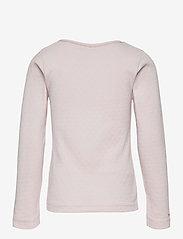 Mini A Ture - Aje T-shirt GOTS, K - long-sleeved - mauve chalk - 1