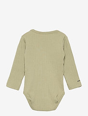 Mini A Ture - Yomi Body GOTS, B - long-sleeved - oil green - 1