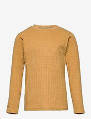 Mini A Ture - Carl-Emil T-shirt GOTS, K - long-sleeved - honey yellow - 0