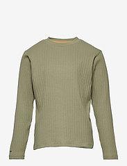 Carl-Emil T-shirt GOTS, K - OIL GREEN