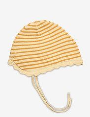 Mini A Ture - Una Baby Hood, B - hats & gloves - apricot gelato - 1