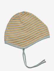 Mini A Ture - Urs Baby Hood, B - hats & gloves - slate blue - 1
