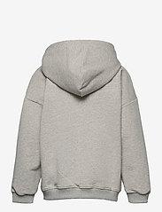 Mini A Ture - Alfi Zip Hoodie, K - hoodies - light grey melange - 1