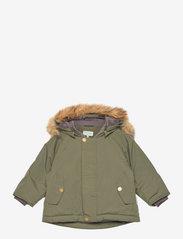 Wally Fake Fur Jacket, M - DEEP DEPTHS