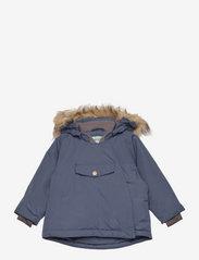 Wang Fake Fur Jacket, M - BLUE NIGHTS