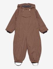 Mini A Ture - Wisti Suit, M - snowsuit - acorn brown - 0