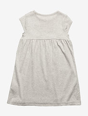Mini A Ture - Else SS Dress, BM - kjoler - light grey melange - 1
