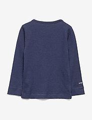 Mini A Ture - Erion T-shirt, MK - lange mouwen - mood indigo - 1