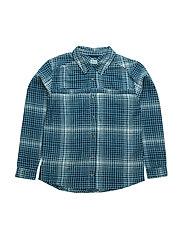James, K Shirt LS - BLUE WING TEAL