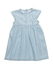 Emilia, BM Dress SS - CELESTIAL BLUE