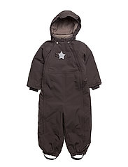 Wisti, M Snowsuit - DARK COFFEE
