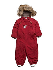 Wisti Faux Fur, M Snowsuit - SCOOTER RED