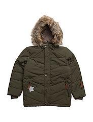 Wessel Faux Fur, K Jacket - GRAPE LEAF