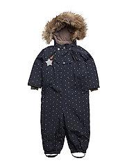 Wisti Faux Fur, M Snowsuit - BLUE NIGHTS