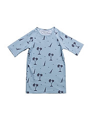 Gun T-shirt, K - BLUE FOG