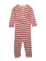 Thea Romper, B - WITHERED ROSE