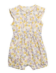Chresta Romper, BM - YELLOW LEMON