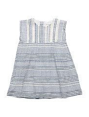 Clementine Dress, M - TRUE NAVY