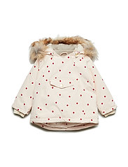 Wang Faux Fur Jacket, M - CRéME DE PECHE
