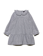 Madeline Dress, M - SKY CAPTAIN BLUE