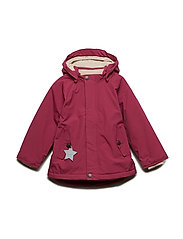 Wally Jacket, M - CHERRY