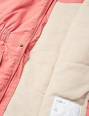 Mini A Ture - Vibse Jacket, K - parkas - faded rose - 7