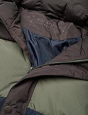 Mini A Ture - Wernon Jacket, K - daunen- und steppjacken - beetle - 6
