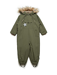 Wisti Faux Fur Snowsuit, M - BEETLE