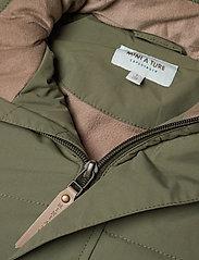 Mini A Ture - Witta Faux Fur Jacket, K - parkas - beetle - 7