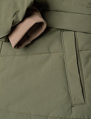 Mini A Ture - Witta Faux Fur Jacket, K - parkas - beetle - 8