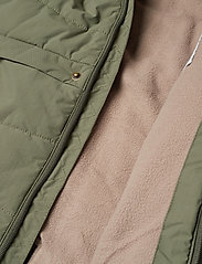Mini A Ture - Witta Faux Fur Jacket, K - parkas - beetle - 9