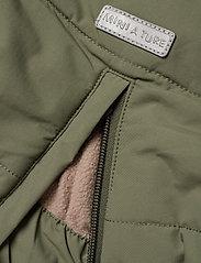 Mini A Ture - Witta Faux Fur Jacket, K - parkas - beetle - 10
