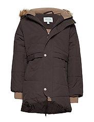 Witta Faux Fur Jacket, K - LICORISE