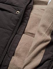 Mini A Ture - Witta Faux Fur Jacket, K - parkas - licorise - 7